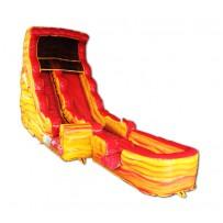 20ft Lava Wet/Dry Slide