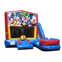 Mickey & Friends 7N1 Bounce Slide combo (Wet or Dry)