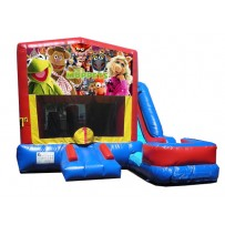 Muppets 7N1 Bounce Slide combo (Wet or Dry)