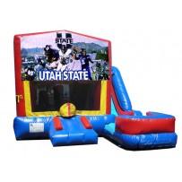 Utah State 7N1 Bounce Slide combo (Wet or Dry)