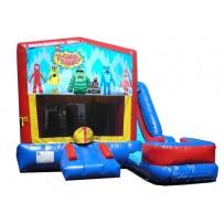 Yo Gabba Gabba 7n1 Bounce Slide combo (Wet or Dry)