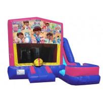 Doc McStuffins 7n1 Bounce Slide combo (Wet or Dry)