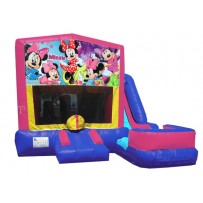 Minnie Mouse 7n1 Bounce Slide combo (Wet or Dry)