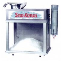 Sno Cone Machine with 50 servings