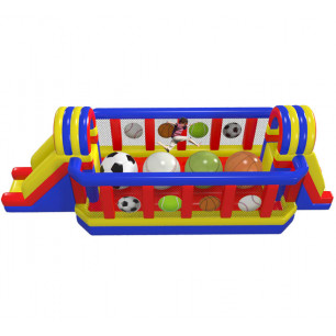 Sports Wipe Out Obstacle